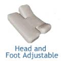 Standard Top Sheet Sets - Split Head and Foot